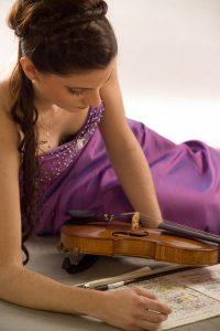 Christine Maria Höller - Violinistin aus Salzburg - Geigenkurse, Violinunterricht