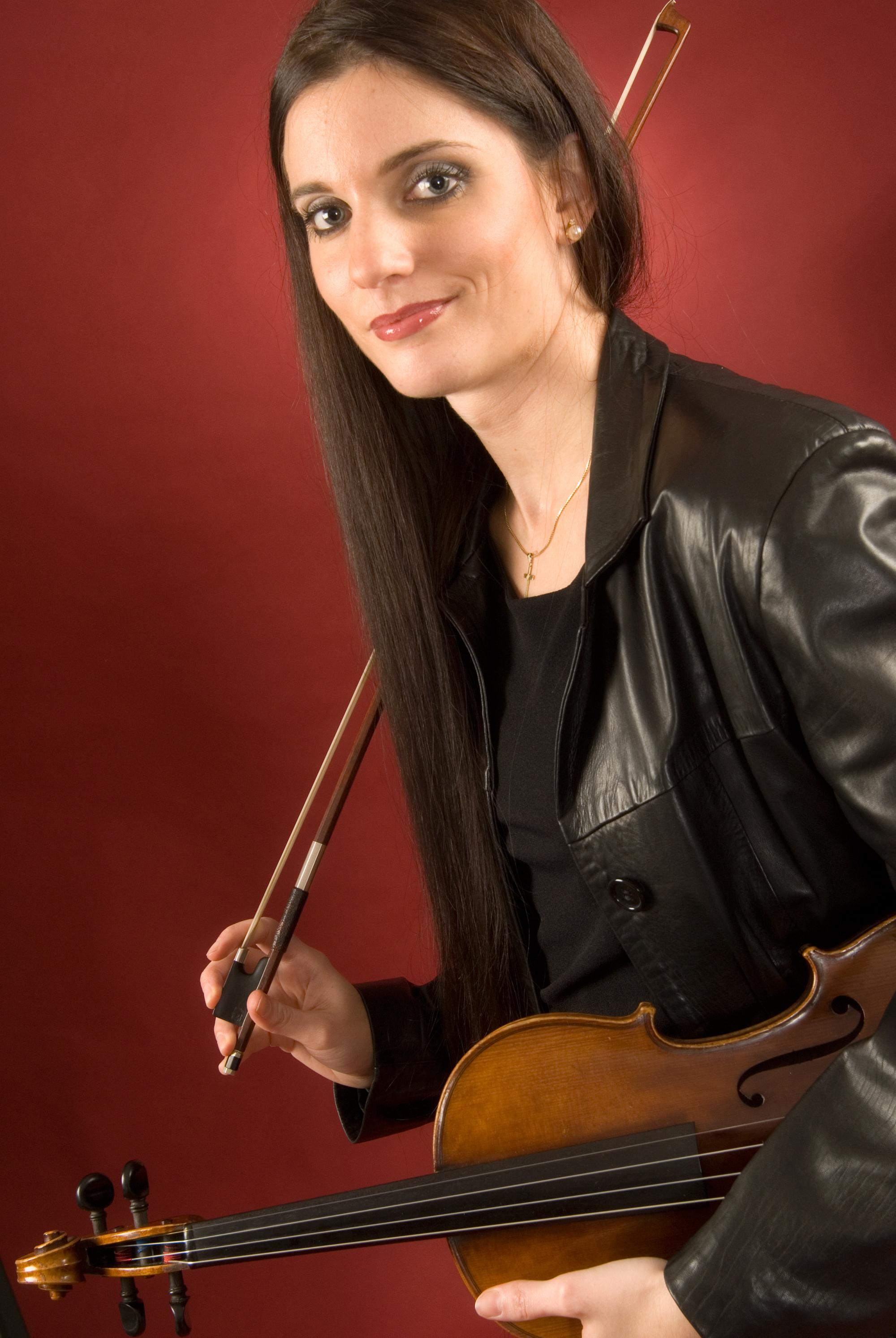Christine Maria Höller - Violinistin Salzburg