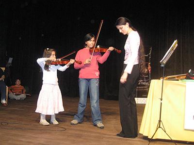 Violinunterricht in Ushuaia /Argentinien