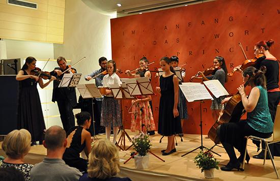 Abschlußkonzert mit den Teilnehmern der Musizierwoche 2020 Bischofshofen Christe Maria Höller
