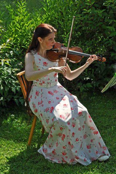 Violinistin - Geigerin Christine Maria Höller Salzburg