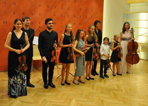 Musizierwoche Bischofshofen 2020 mit Violinistin Christine MAria Höller