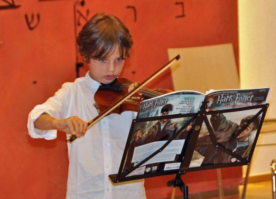 Mitwirkende Kinder der Musizierwoche 2020 in Bischofshofen
